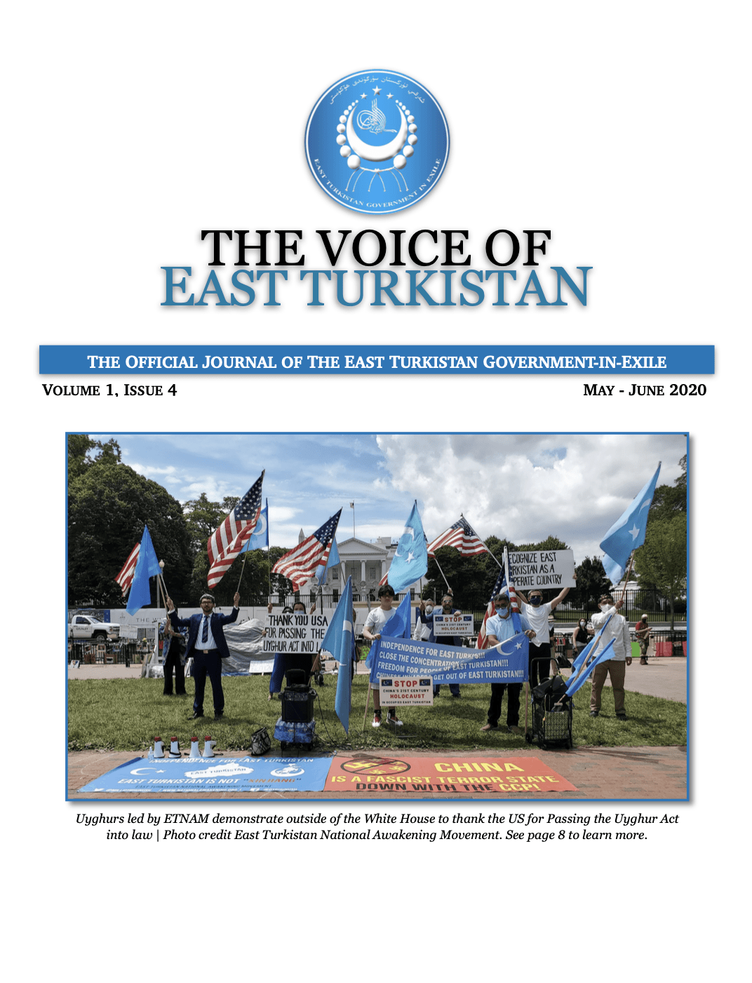 Voice of East Turkistan – Issue 4