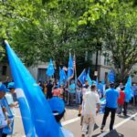 WDVM: Uyghurs rally on genocide, sovereignty and captive nations