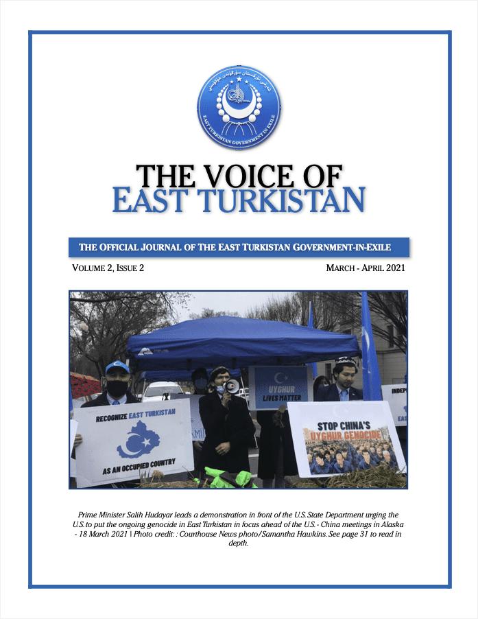 Voice of East Turkistan- Vol 2. Issue 2